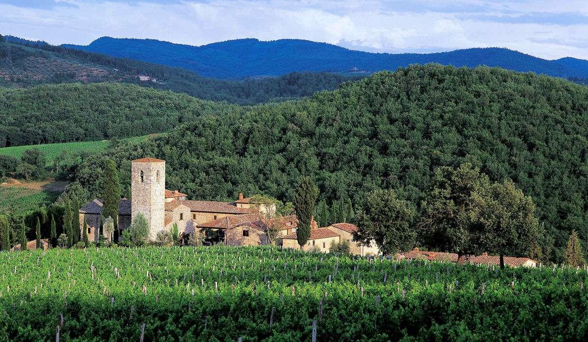 Das schöne Castello di Spaltenna