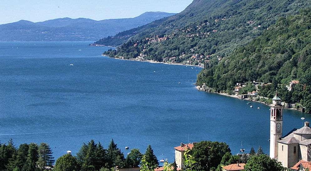 Maggioresjön bjuder på flera imponerande utsikter