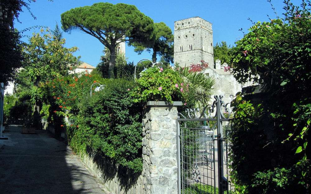 Kig mod Villa Rufolo