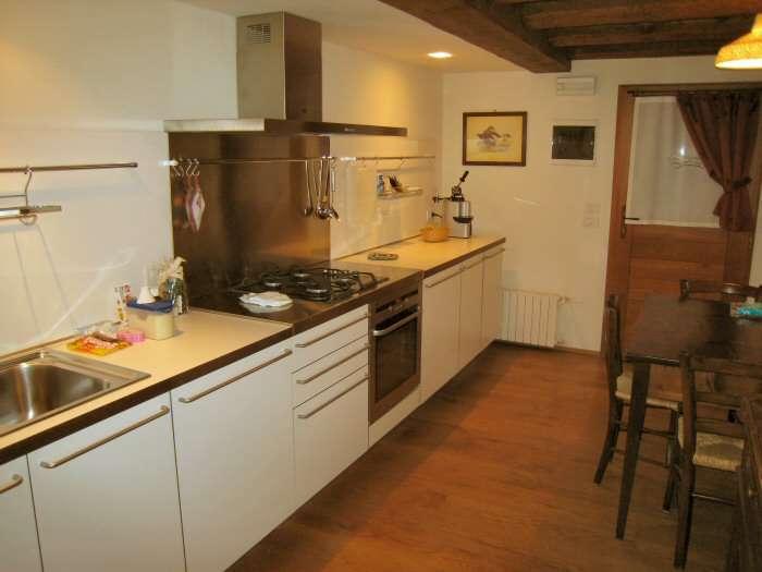 Küche in der Wohnung Vigneti