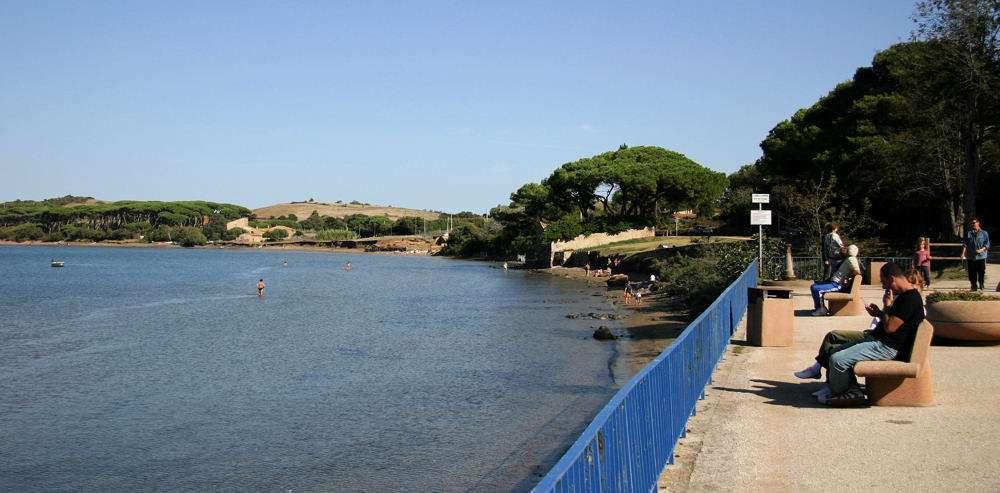 Die Bucht von Baratti und Populonia ist auch nach einer kurzer Autofahrt erreichbar