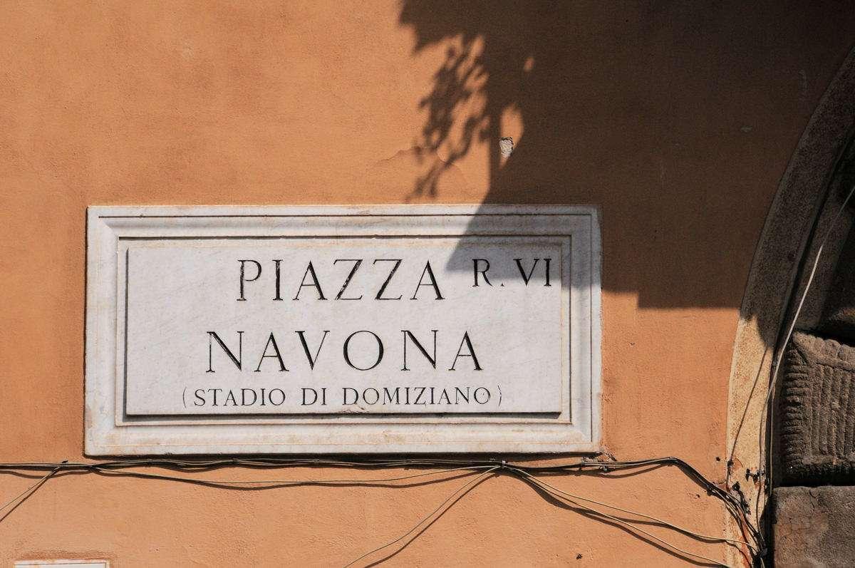 Piazza Navona i Rom
