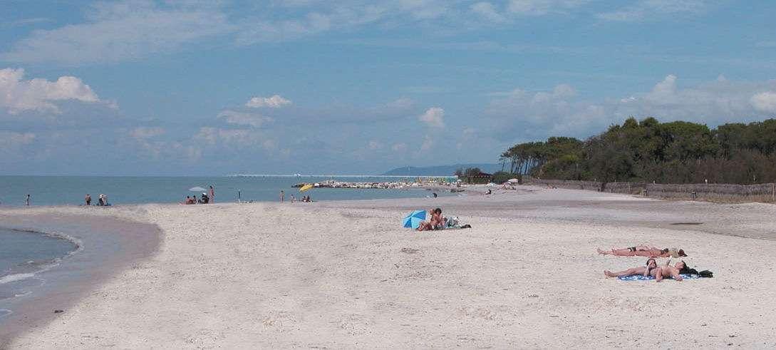 Les plages de sable fin de Vada