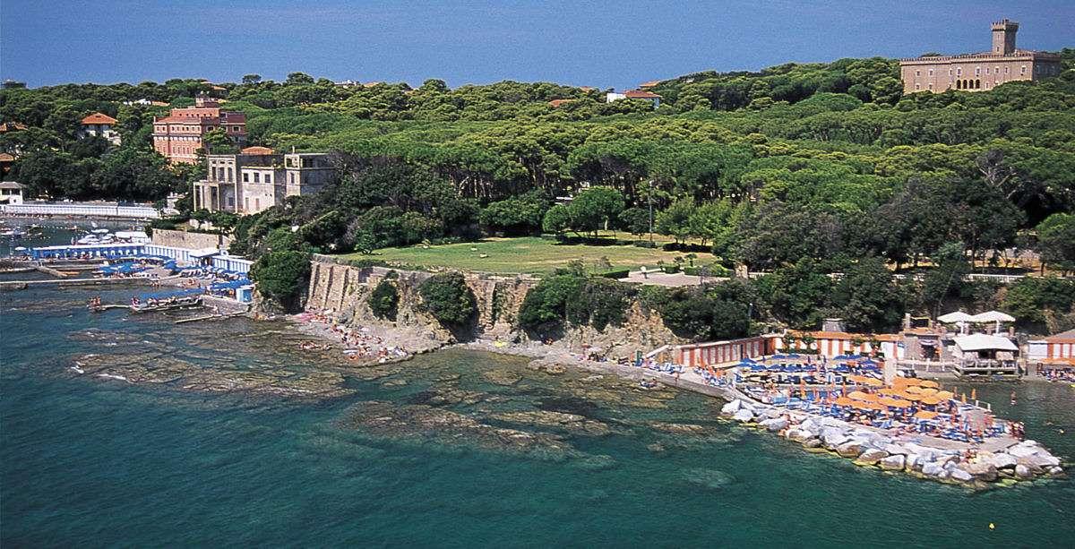 La côte de Castiglioncello