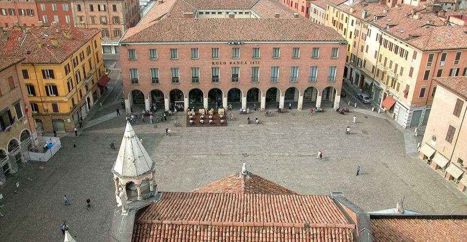 Emilia-Romagnas många kulturstäder har stämningsfulla torg