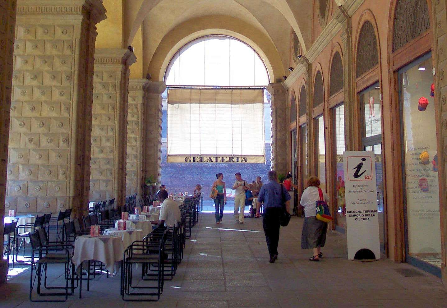 Bologna bjuder på metervis av valvgångar
