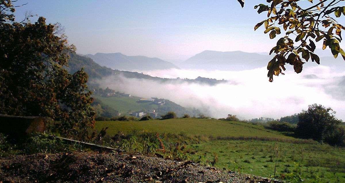 Appenninerna mellan Toscana och Emilia-Romagna
