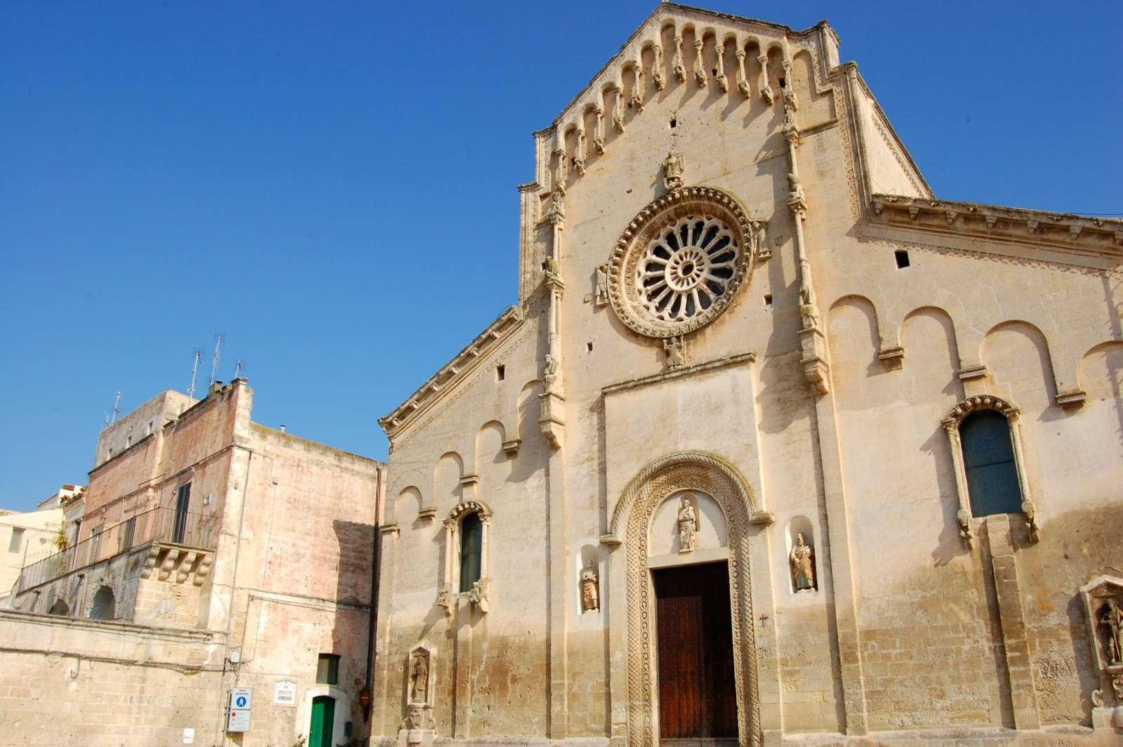 Der römische-apulische Dom in Matera