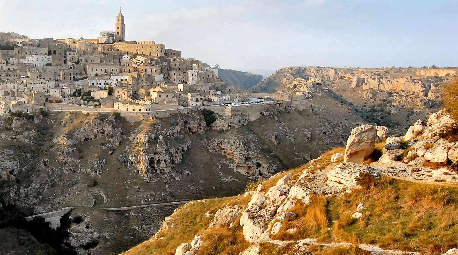 Le ravin de Sassi di Matera