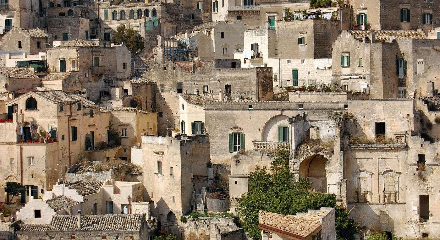 I Sassi di Matera i Basilicata