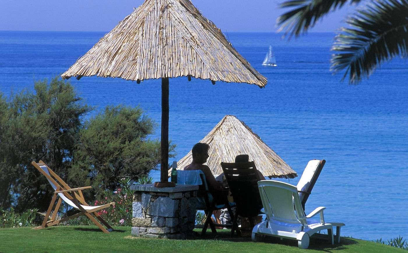Sardinien och havet går hand i hand