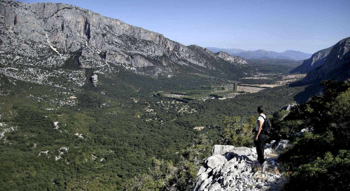 Naturen på Sardinien är storslagen
