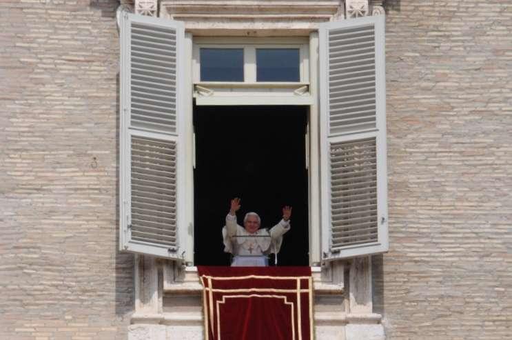 Den tidligere pave Benedikt 16.