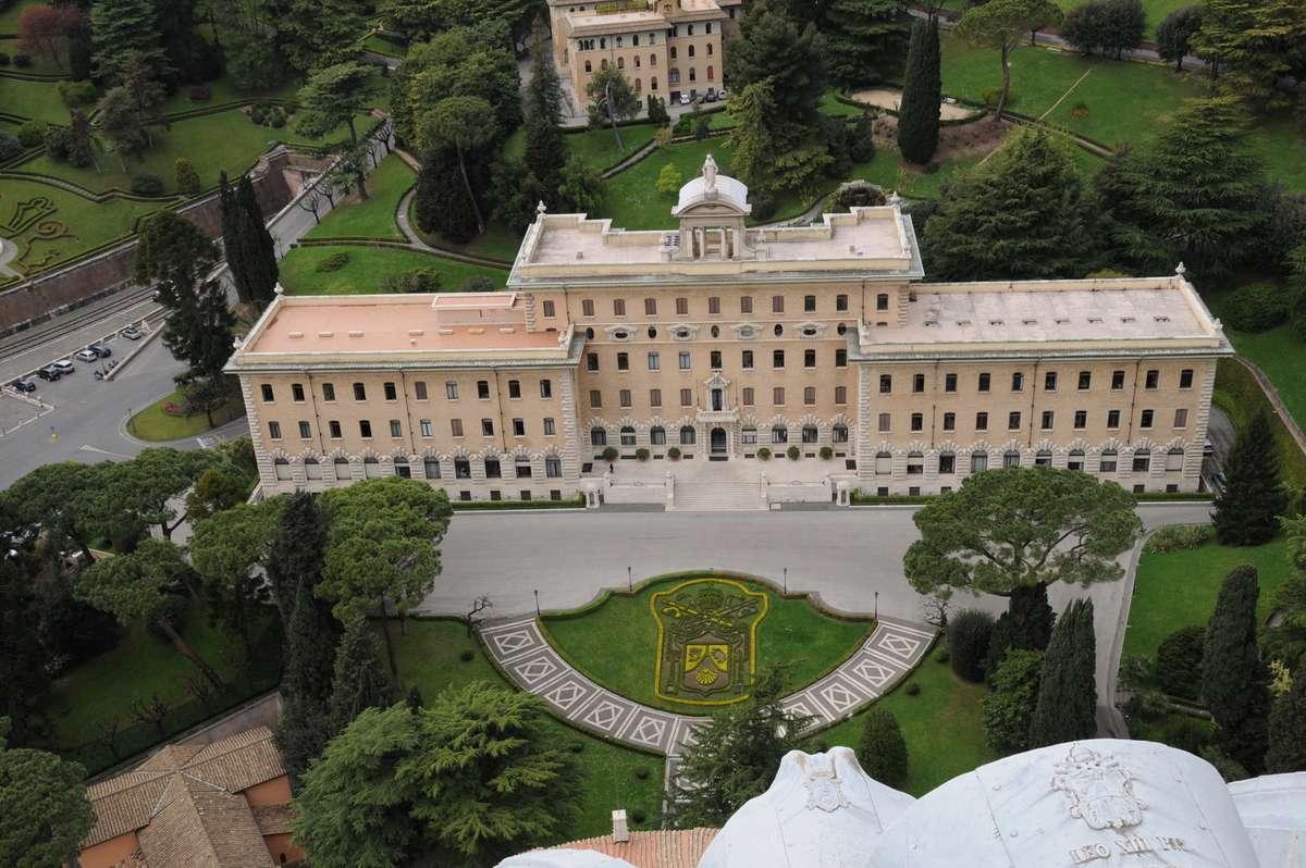Kig ned i Vatikanets have