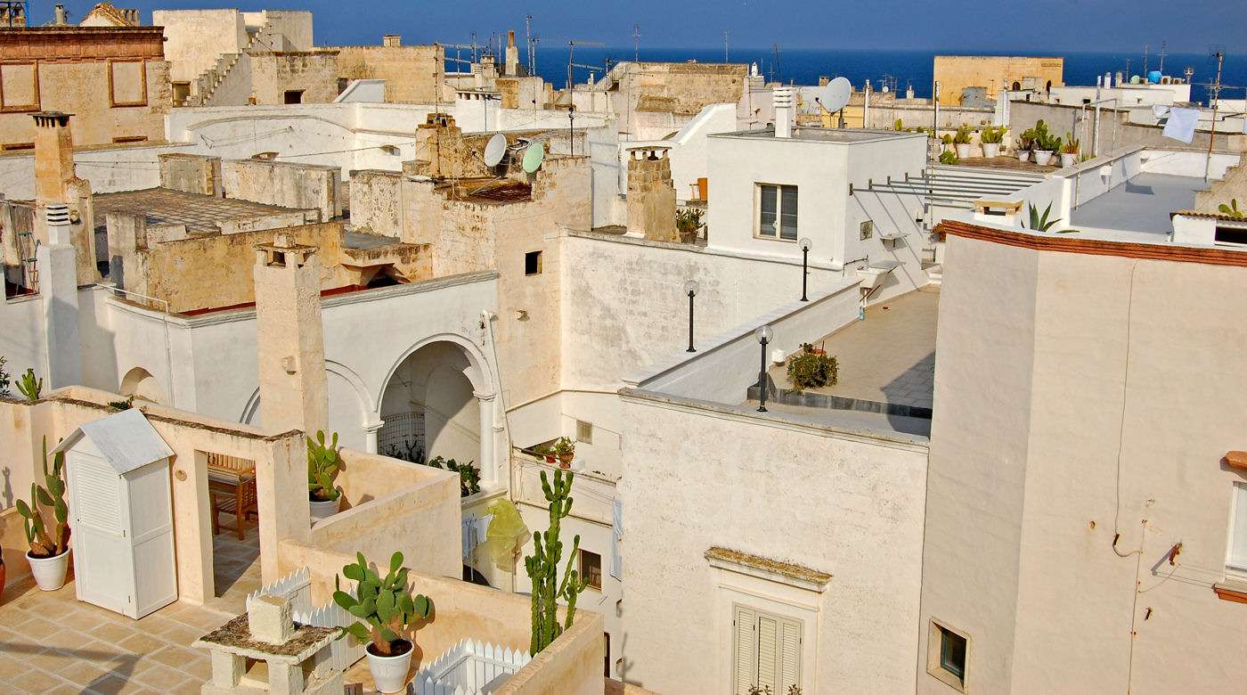 Gallipoli i det sydlige Apulien