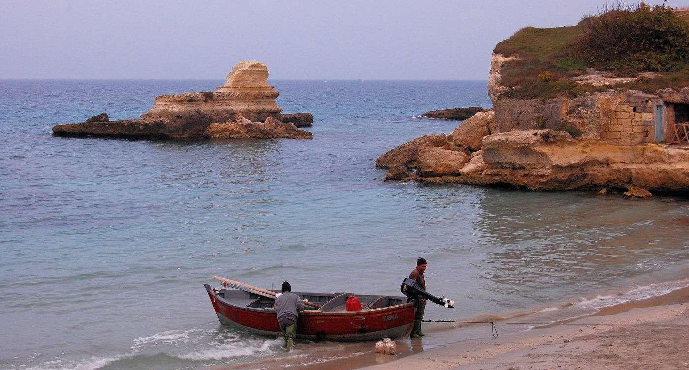 Langs med Adriaterhavet er der en fin veksling mellem sandlaguner og klippekyst