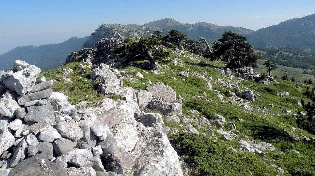 La Calabre est une région riche de reliefs