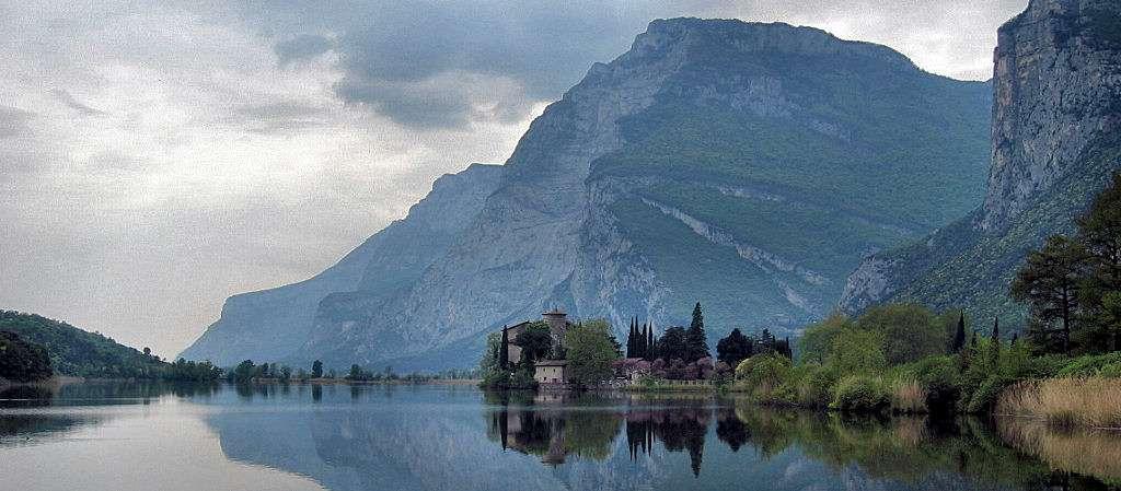 Toblino See in der Nähe von Trento