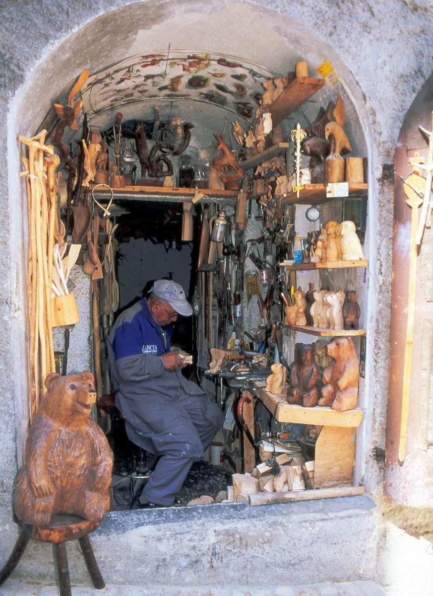 Træskærer fra Abruzzo
