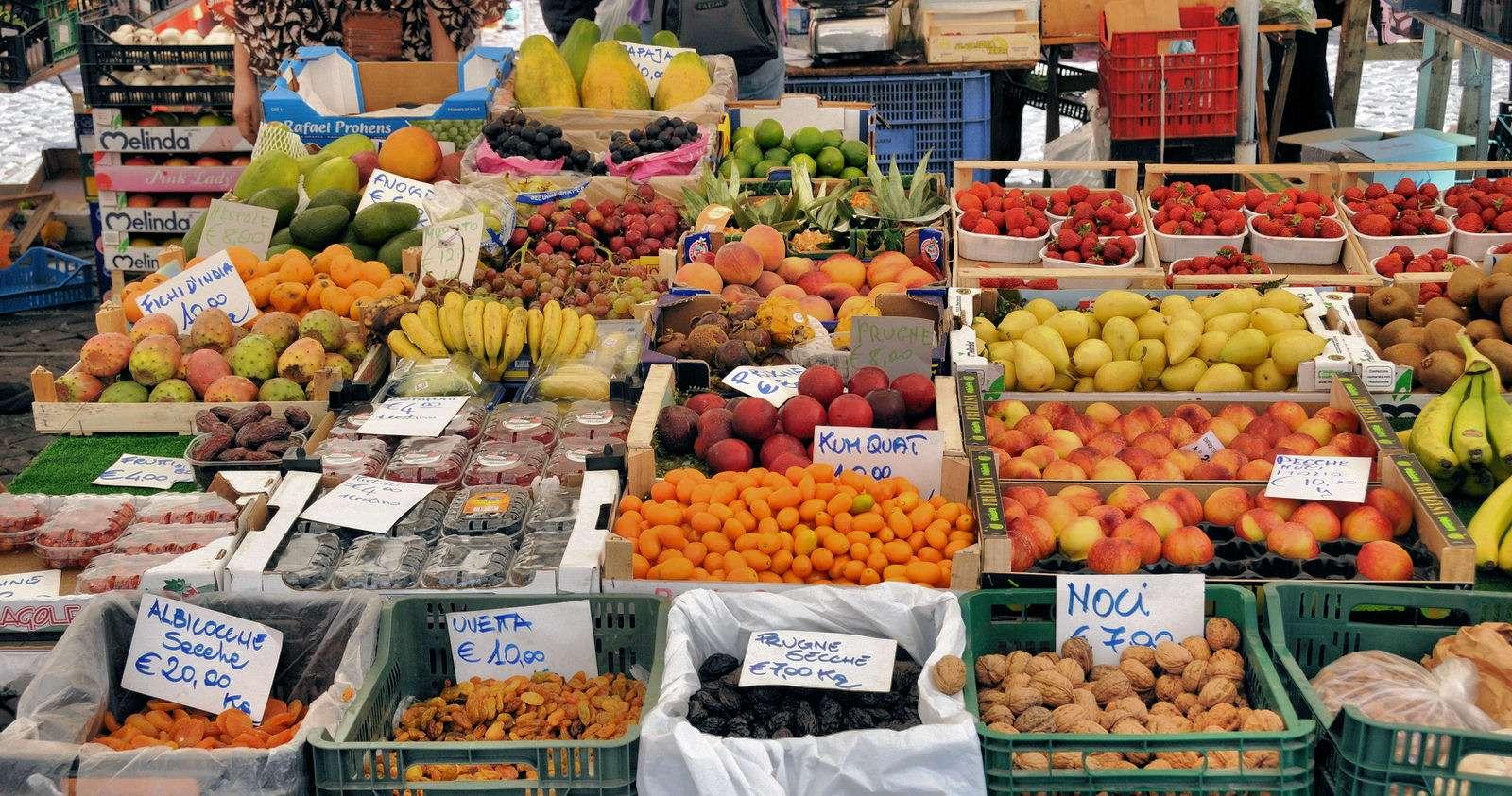 Du finder også lokale markedsdage i Lazio