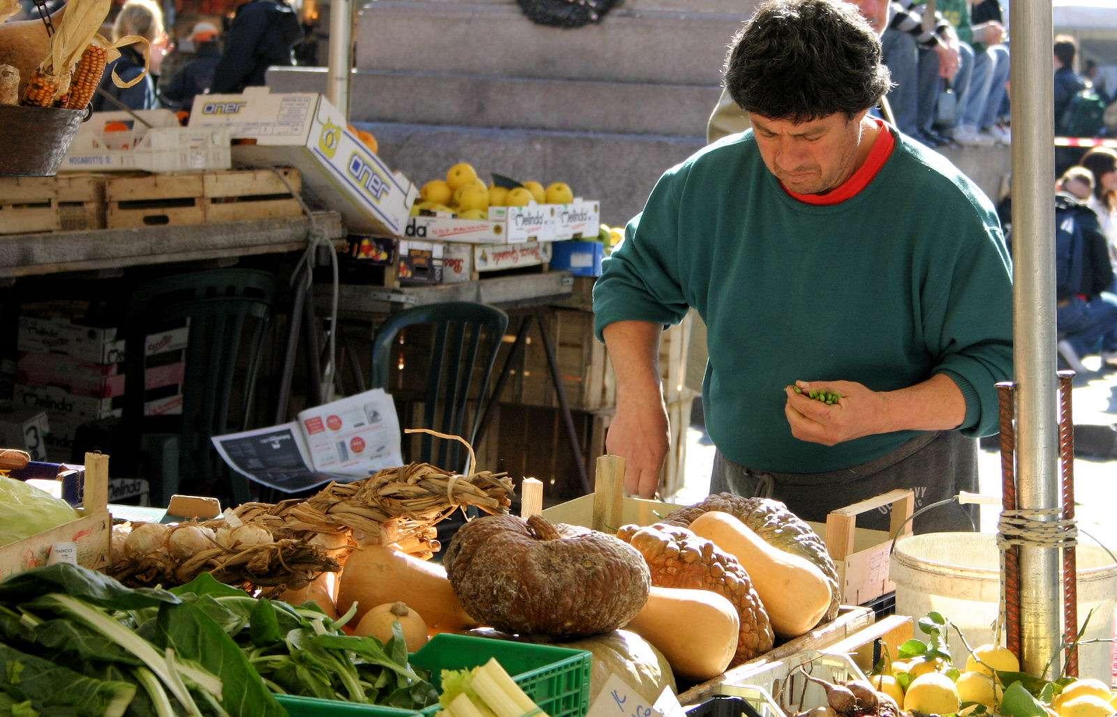 Markttage in Latium