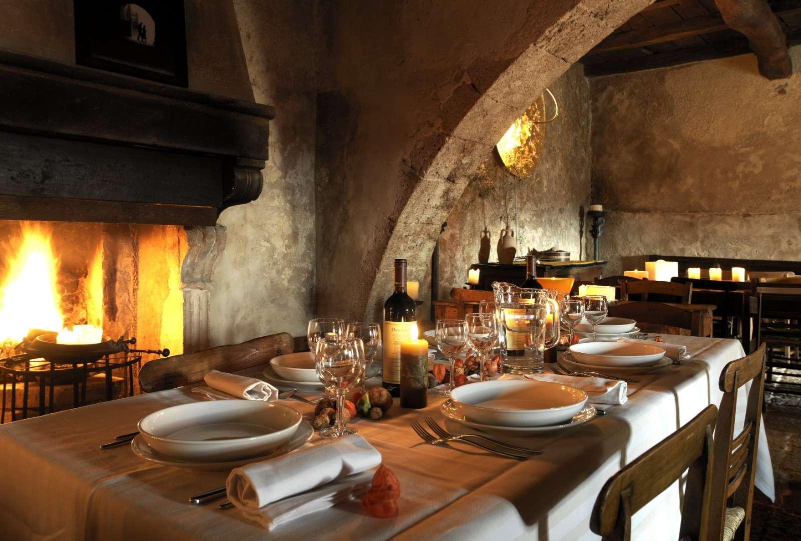 Restaurangen Locanda Sotto gli Archi