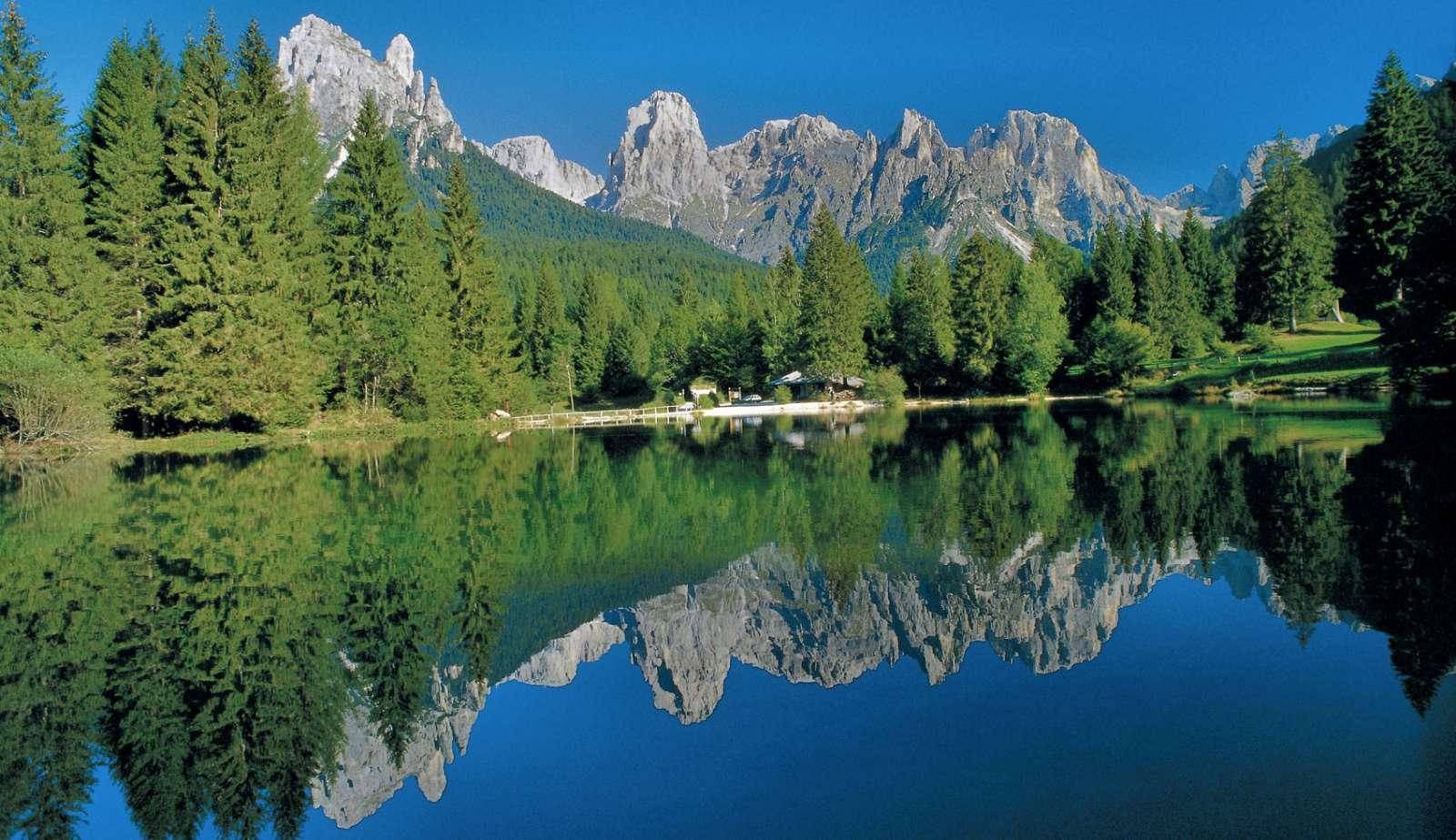 Lacs, forêts et montagnes dignes de chefs d'oeuvre!