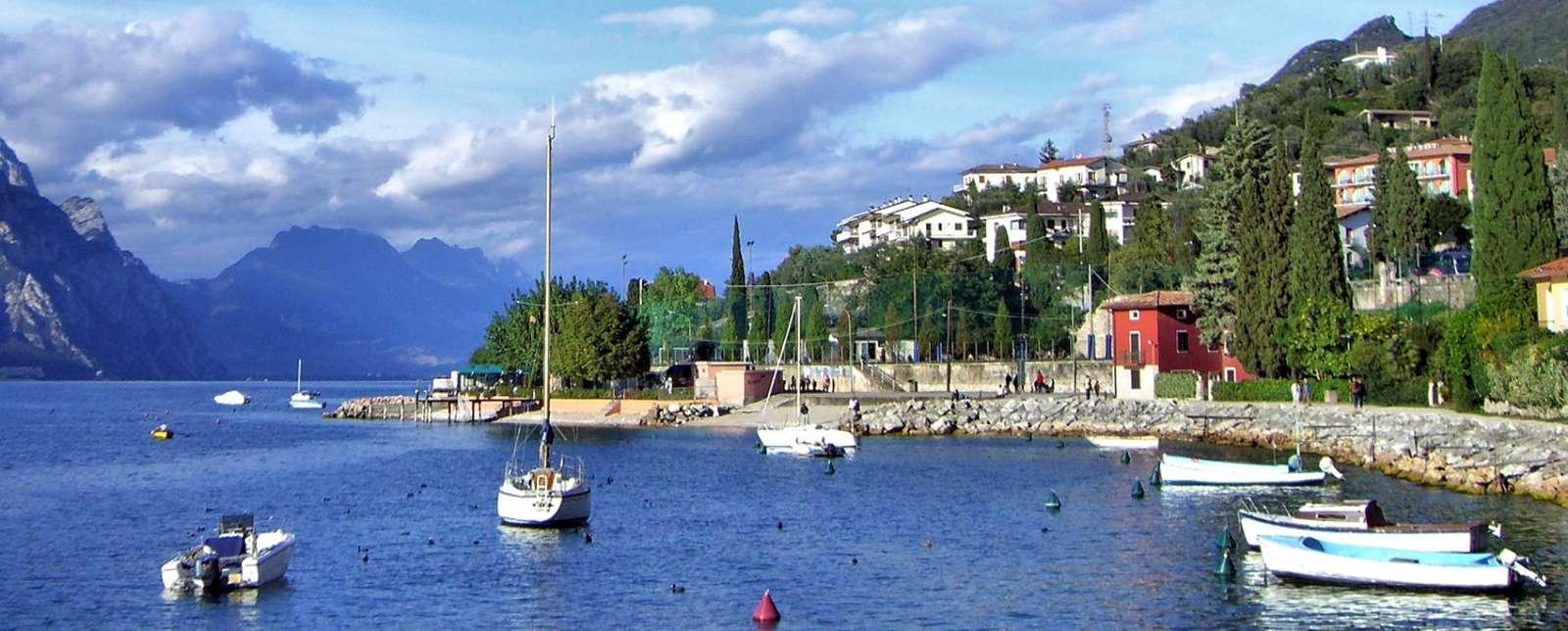 Malcesine ved Gardasøen