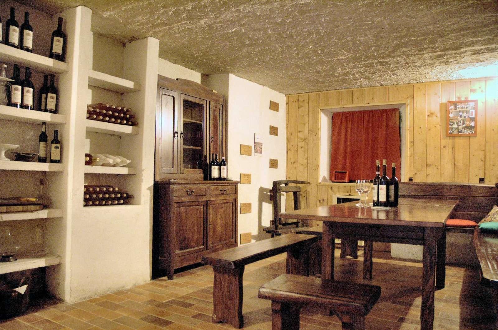 Hier finden die Weinproben statt