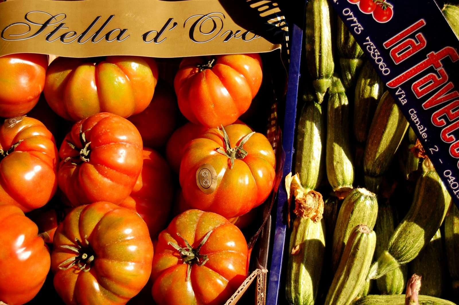 Solmogna grönsaker