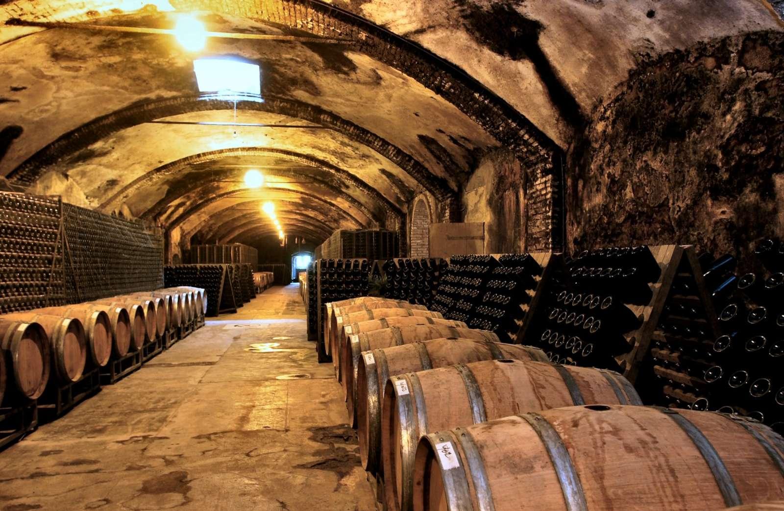 La cave à vin Villa Sparina