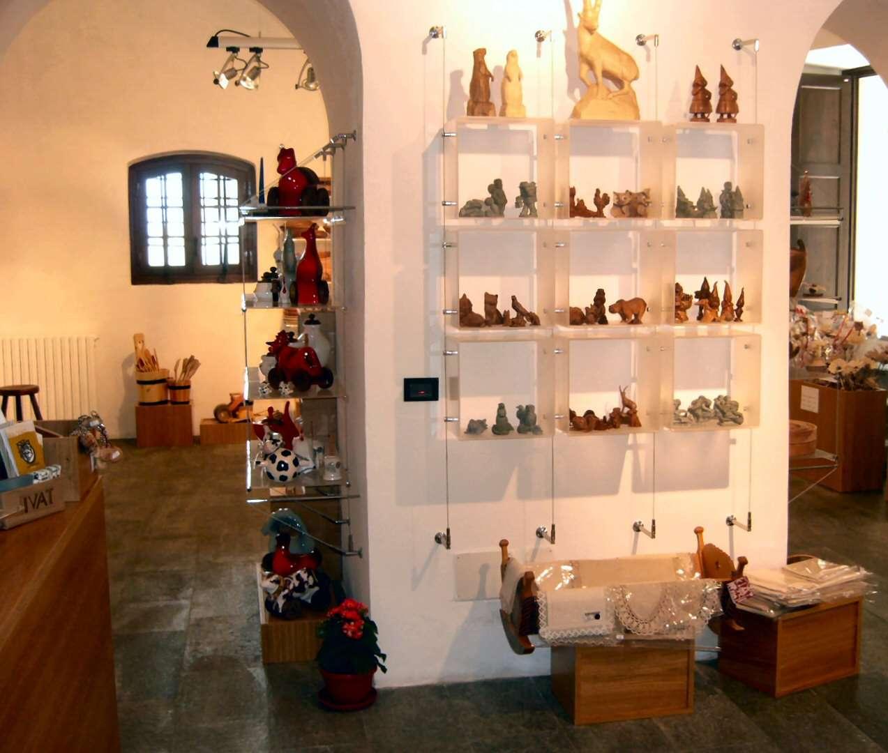 Butiker med hantverk