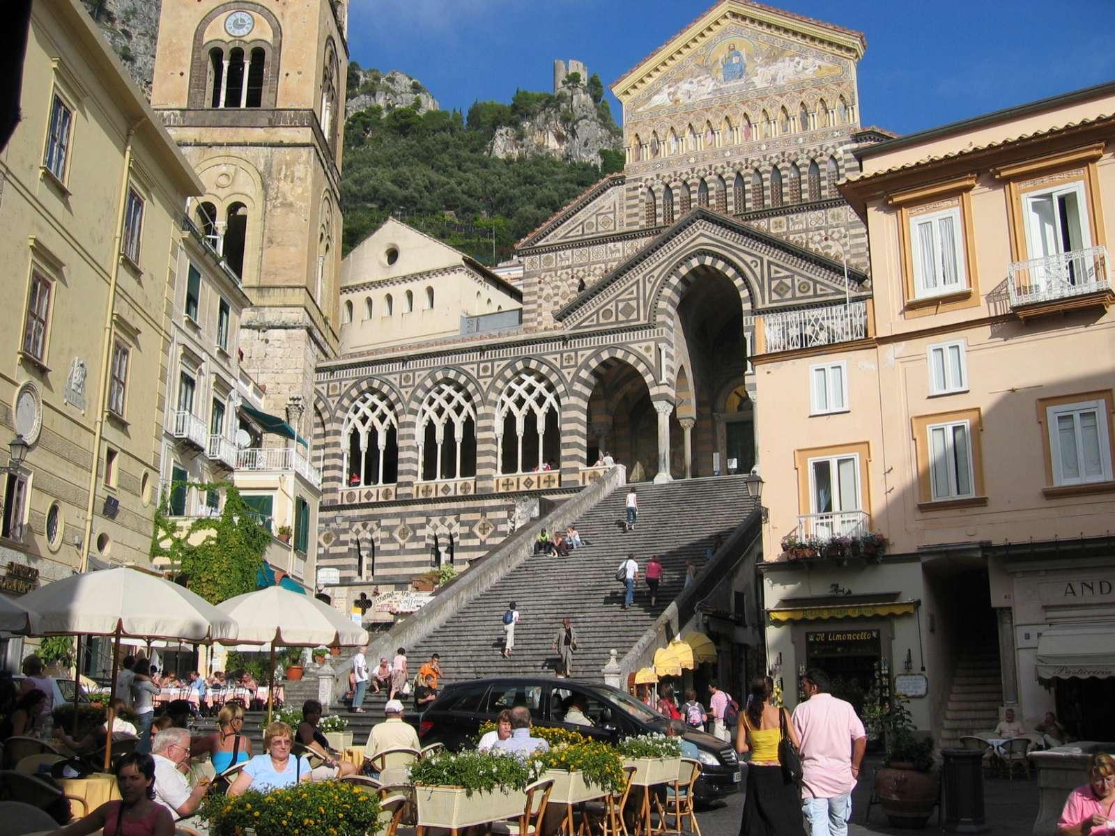Die Kathedrale von Amalfi