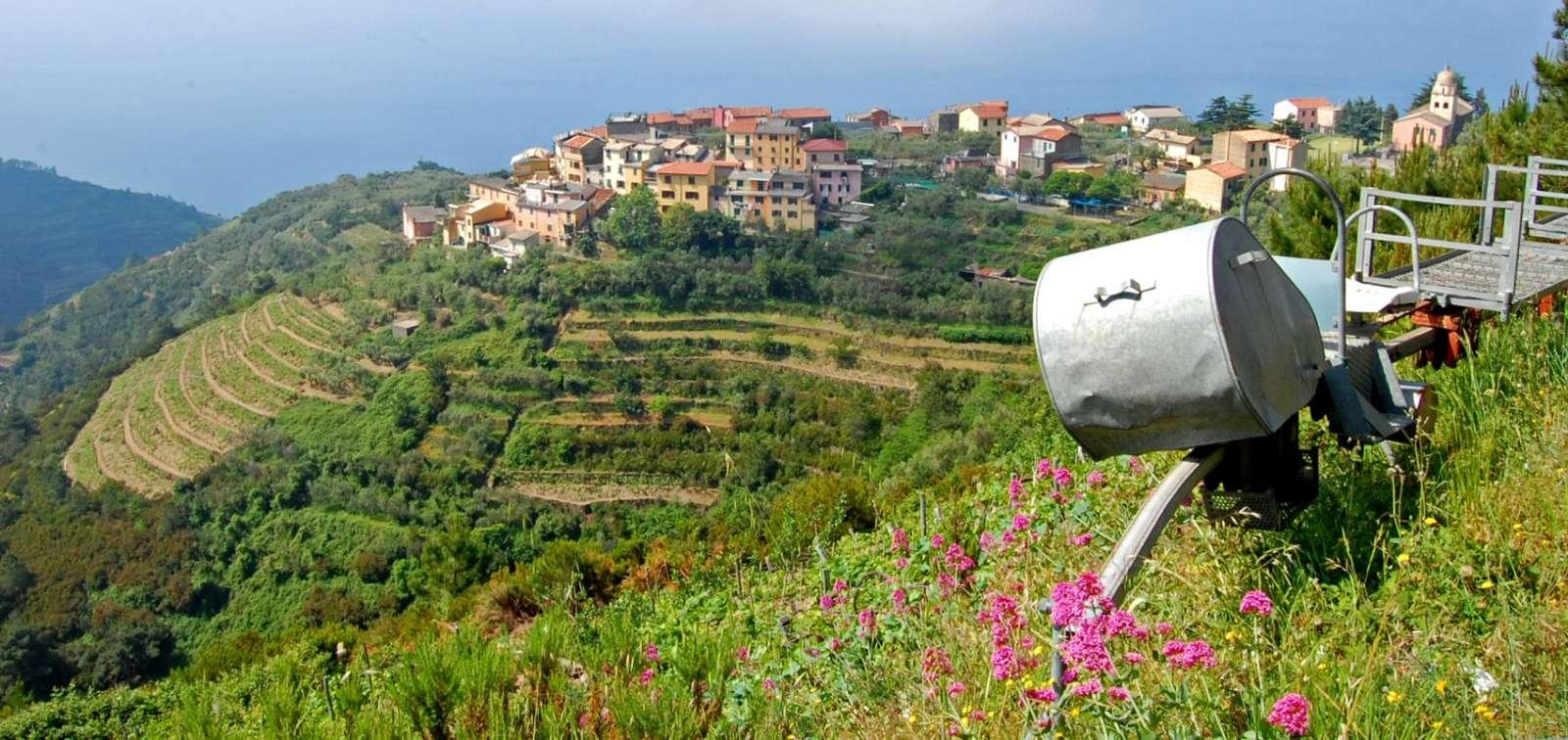 Landsbyen Volastra som hotellet ligger i