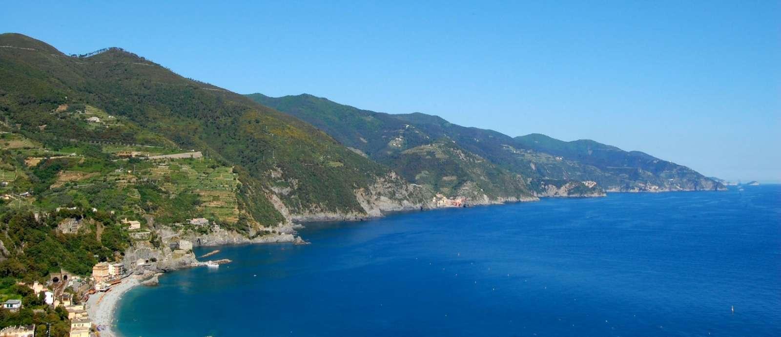 Den mageløse udsigt over hele Cinque Terre