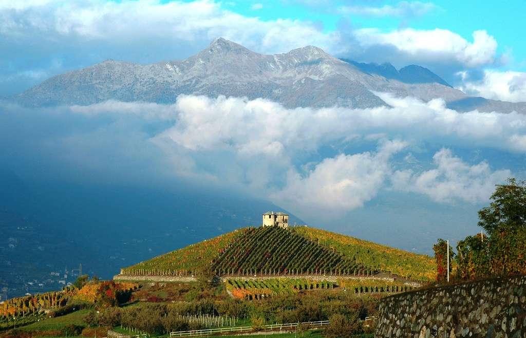 Das Aosta-Tal ist die Heimat der höchsten Bergen in Italien