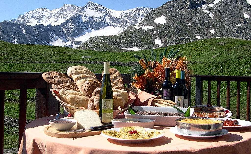 Die Küche im Aosta-Tal - ein Genuss