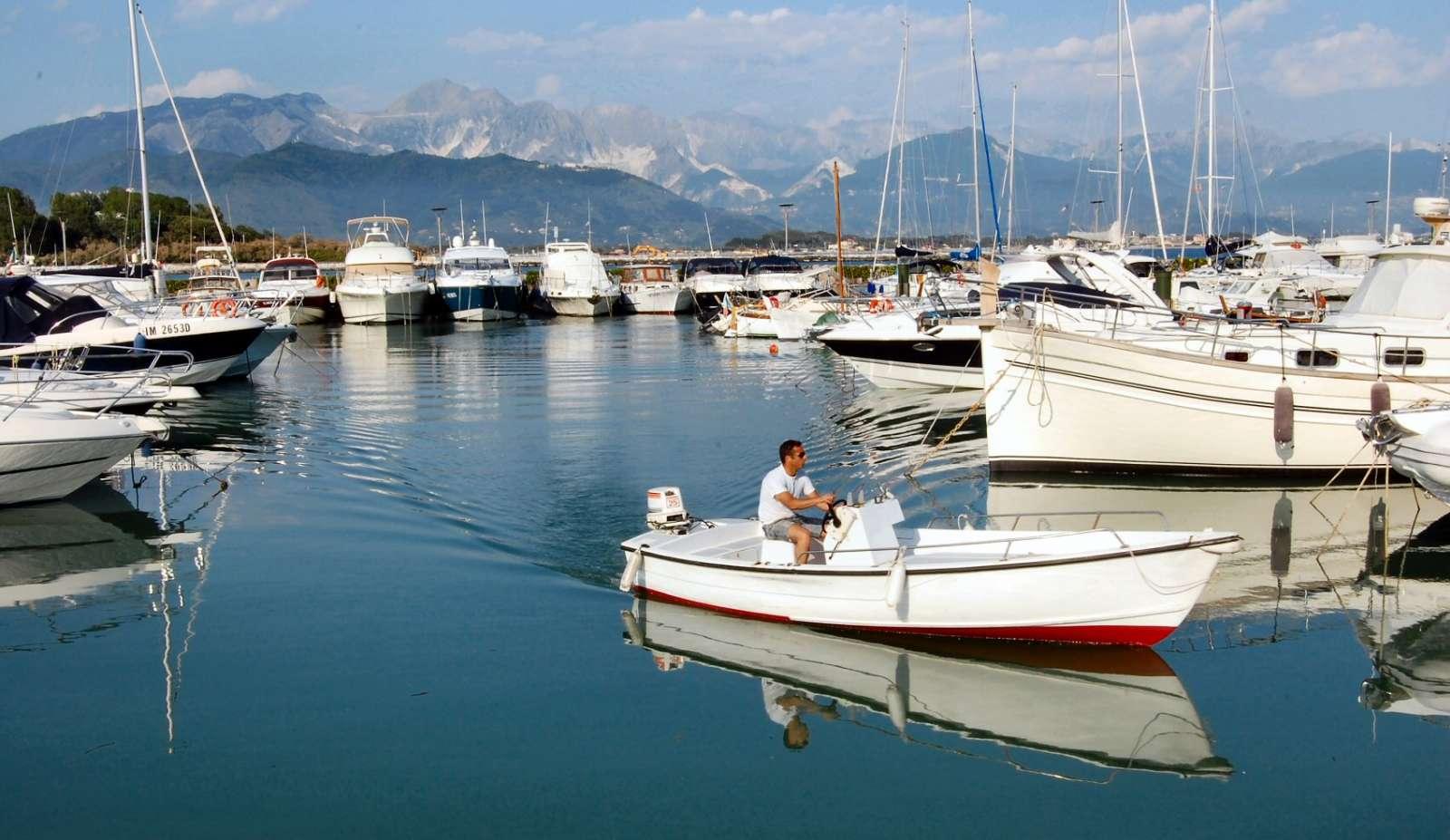 Le port de plaisance de Bocca di Magra