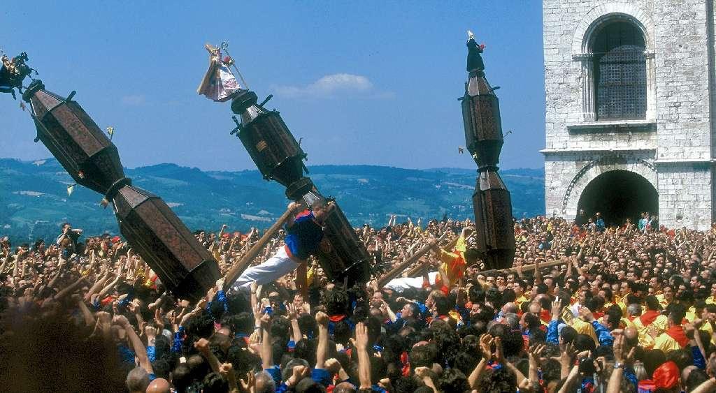 Folkfest i Gubbio