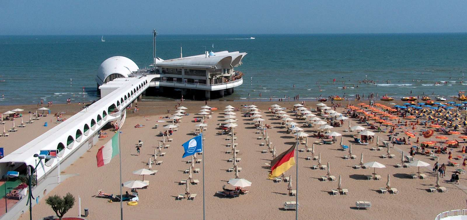 Stranden i Lignano Sabbiadoro