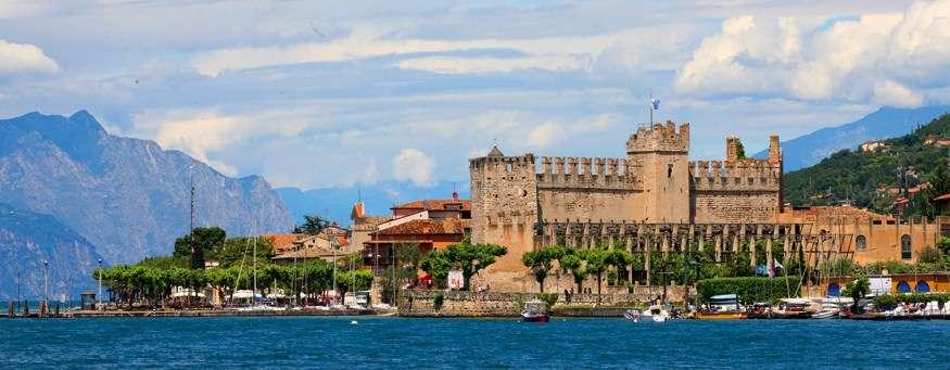 Scaligero-fæstningen på afstand