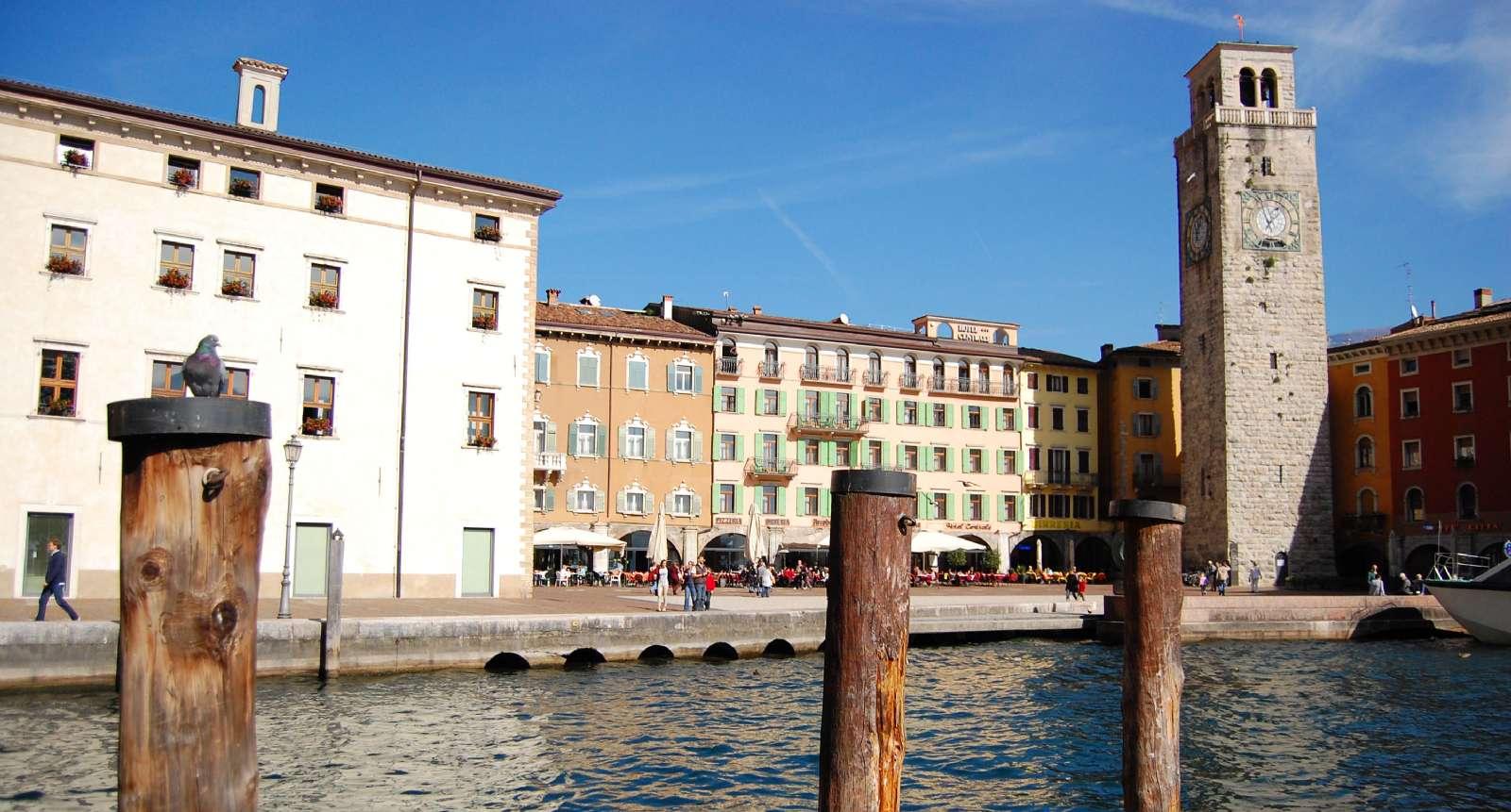 Havnemiljø i Riva del Garda