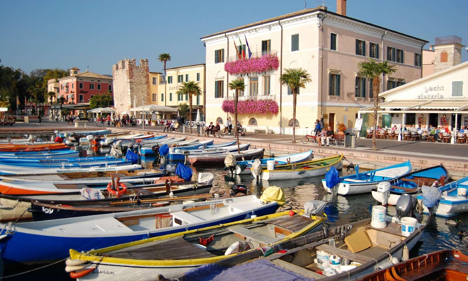 Der Hafen in Bardolino