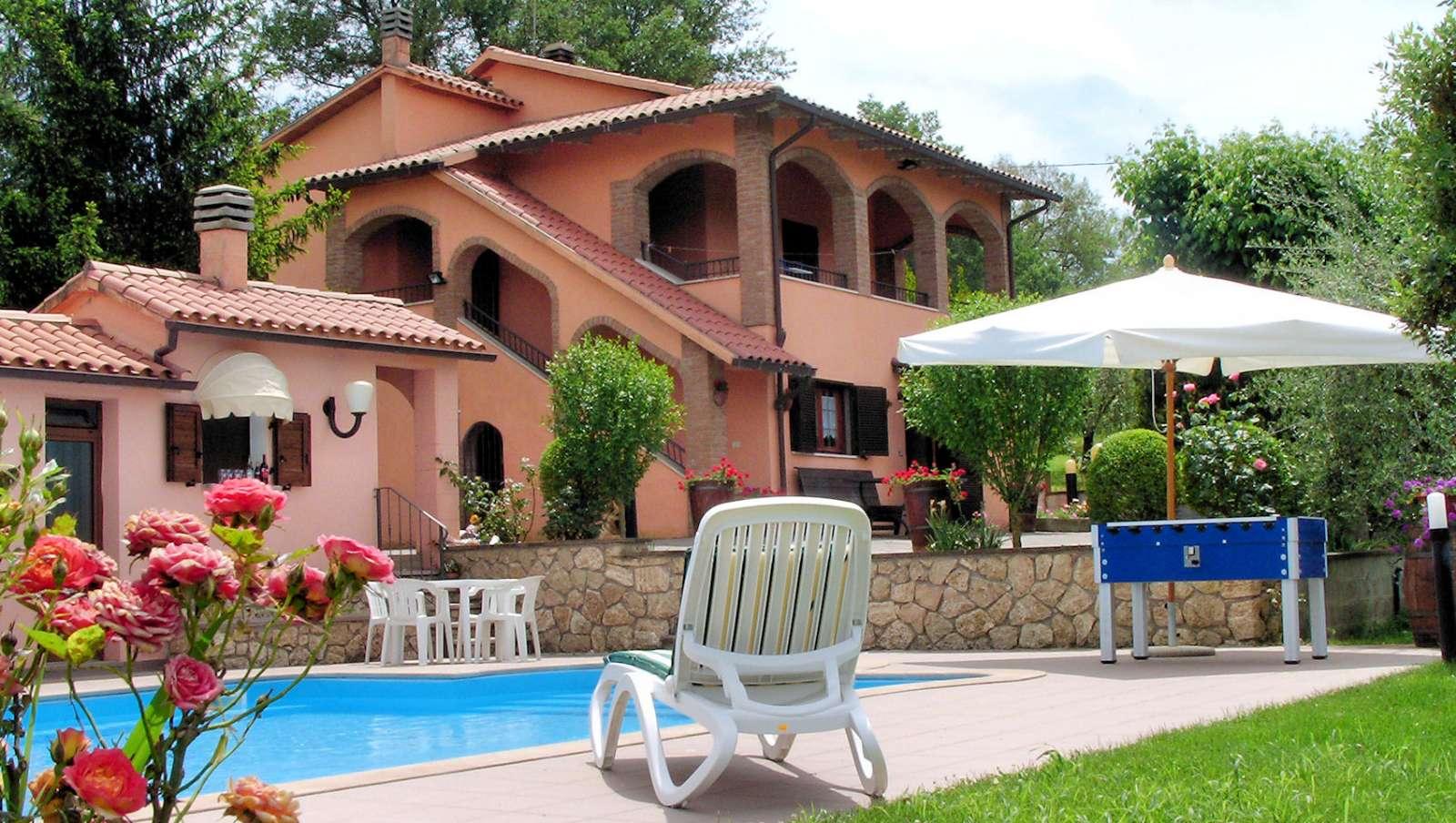 Villa Santa Teresa ved Baschi