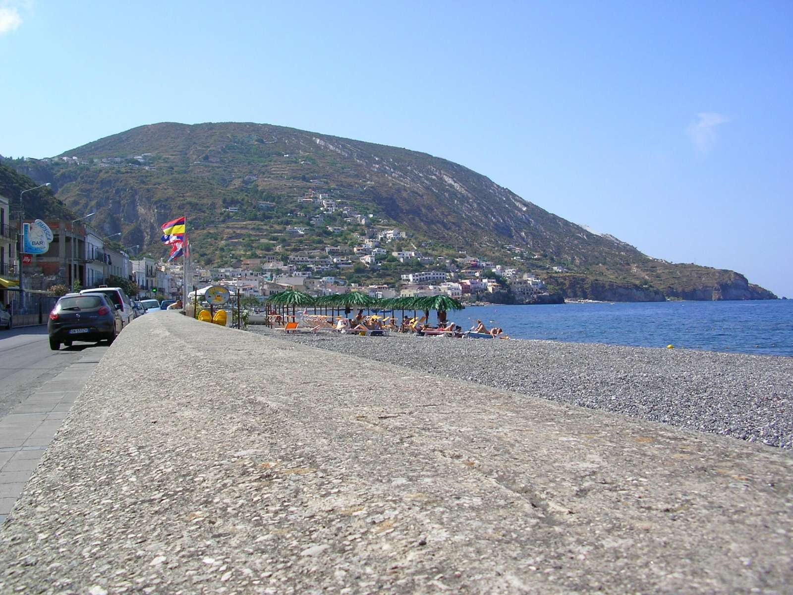La plage de Canneto