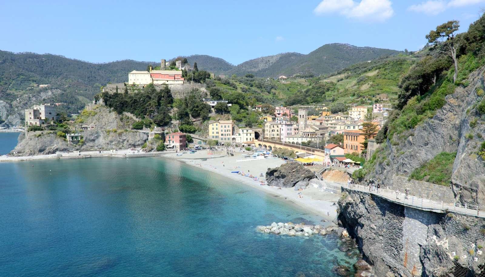 Monterosso i nationalparken Cinque Terre