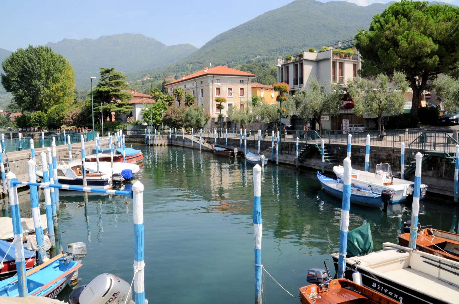 Le port de plaisance de Sulzano
