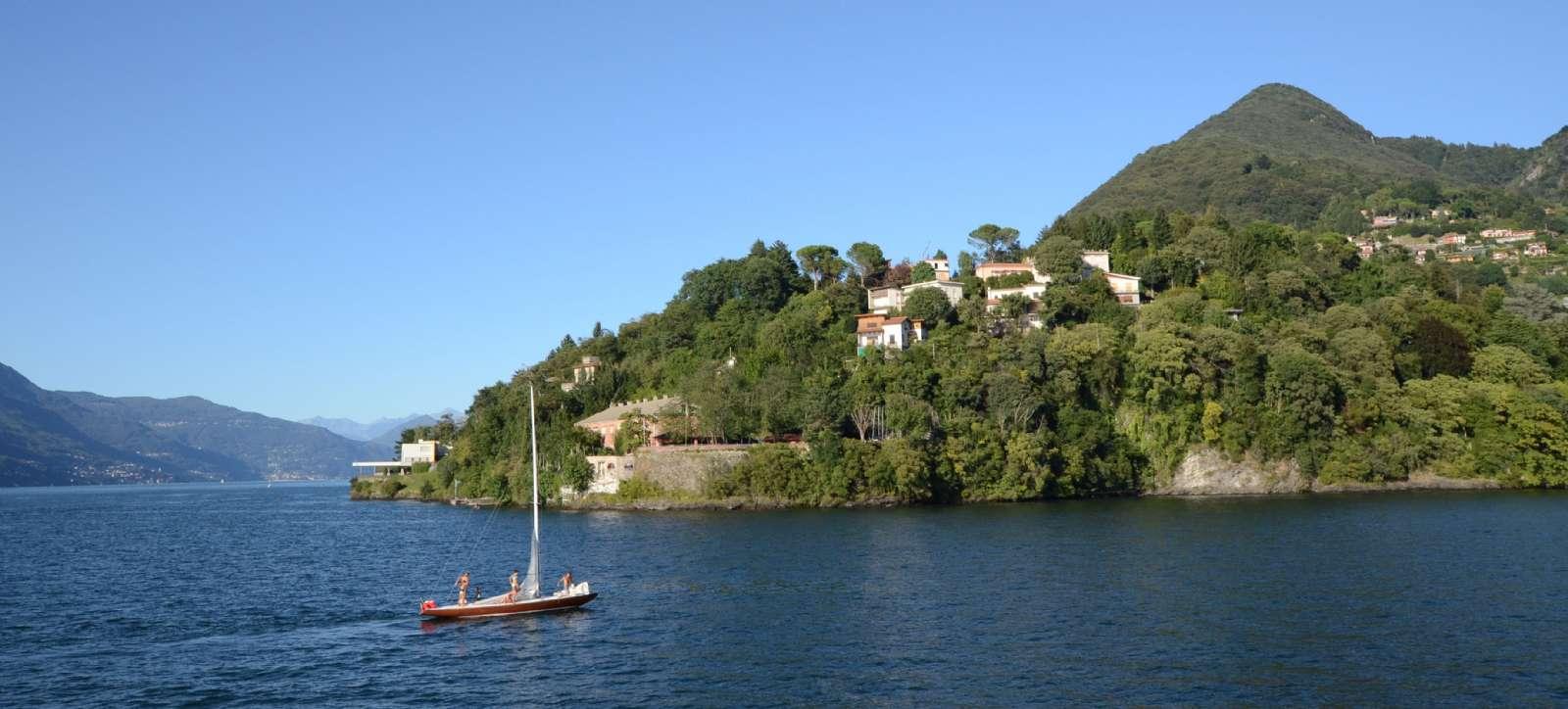Maggioresøen opfordrer til at livet også leves på søen