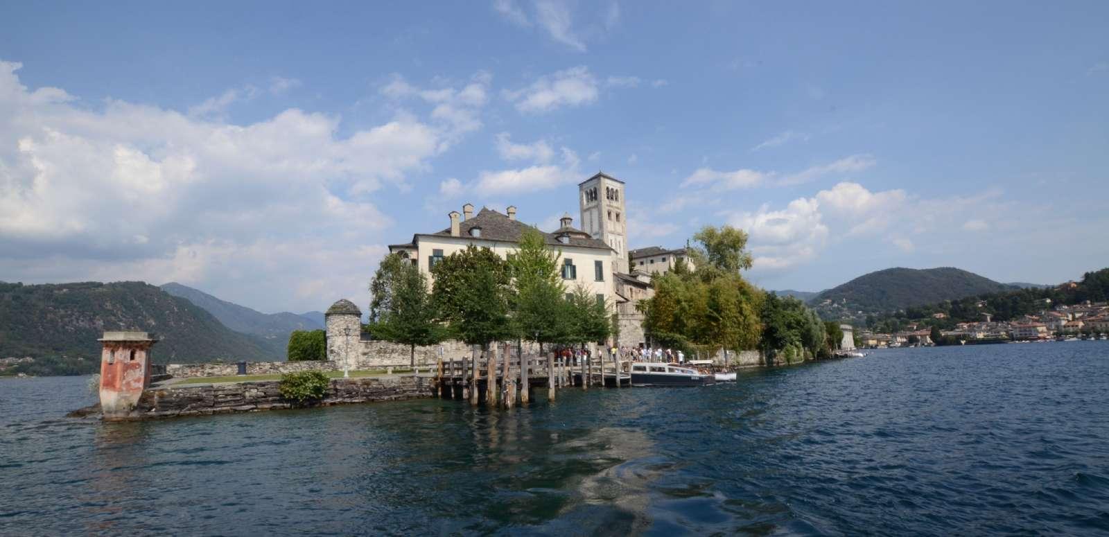 Klosterøen Isola San Giulio