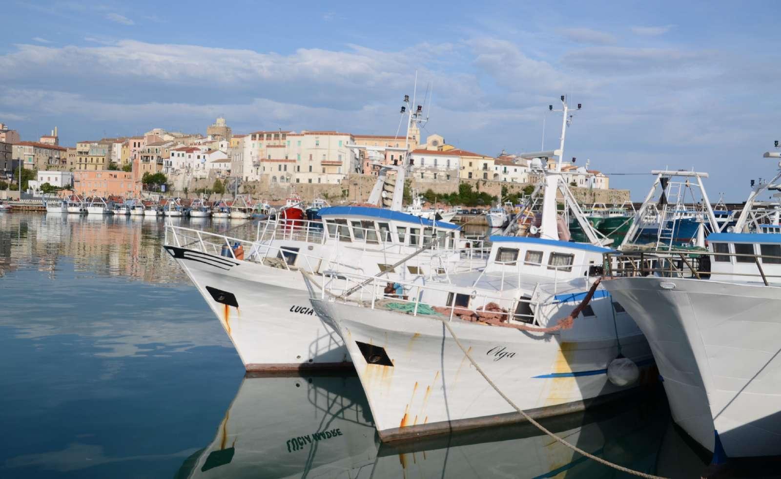 Havnen i Termoli, hvorfra der er færgetrafik til Tremiti-øerne